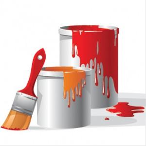 Botes pintura que sobra